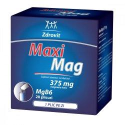 MaxiMag, 375 mg, 20 plicuri, Zdrovit