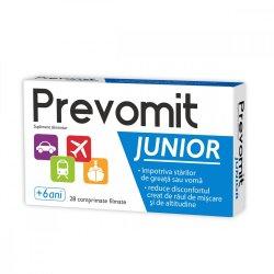 Prevomit Junior, 28 comprimate, Zdrovit