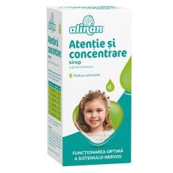 Sirop atentie si concentrare Alinan, 150 ml, Fiterman Pharma