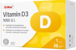 Dr.Max Vitamina D3 1000UI 30cps moi