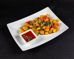 Rosti cu tofu și sos de rosii image
