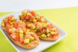 Bruscheta cu avocado (2 bucăți) image
