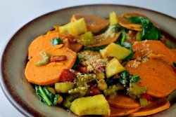 Mix de legume cu anghinare