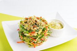 Turn de legume cu sos