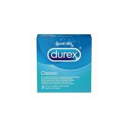Prezervative Classic, 3 bucati, Durex