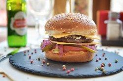 Black Angus Cheeseburger image