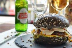 Black Hot Burger