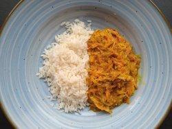 Curry de varză cu morcovi image