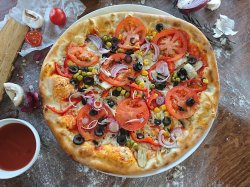 Pizza de post  image
