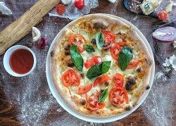 Pizza bocconcini