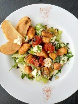Salată cu somon glazurat image