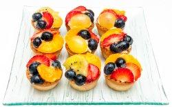 Minitarte cu fructe asortate 1.2 kg image