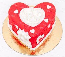 "Tort ""Valentine`s Day Couple"" image"