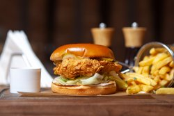 Crispy Chicken Burger image