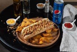 Meniu Hot Dog vegan picant simplu  image