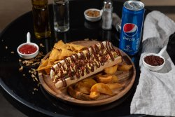 Meniu Hot Dog vegan picant BBQ image