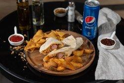 Meniu hot dog tortilla  image