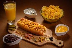 Meniu Hot Dog Cheddar image