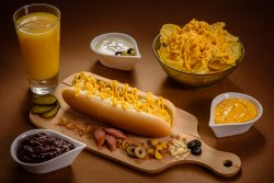 Meniu Hot Dog Cheese image