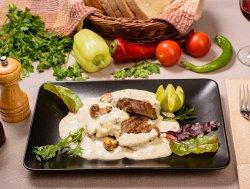 Muschi de vita cu gorgonzola si ciuperci image