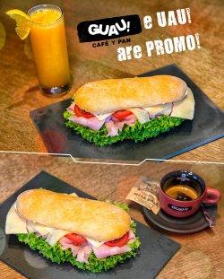 PROMOTIE: Sandwich Cotto + Fresh portocale 300ml