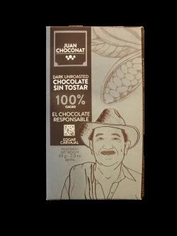 Ciocolata 100% cacao neprajita