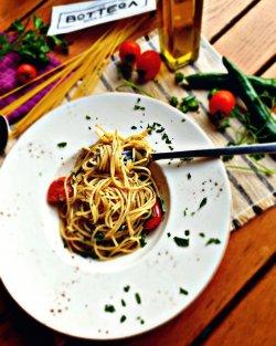 Spaghetti aglio olio e pepperocino