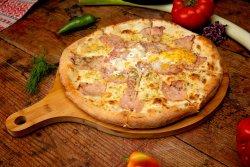 Pizza Carbonara 32 cm 1+1 image