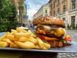 Cheese Meltdown Burger