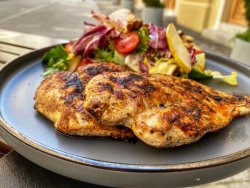 BBQ Grilled Chicken & Salad image