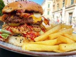 Mr. Chili Pepper (Medium Hot) Burger image