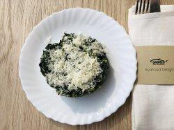 Spanac cu unt și parmesan image