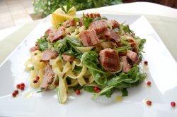 15% GRATUIT: Tagliatelle cu ton la grătar și rucola image