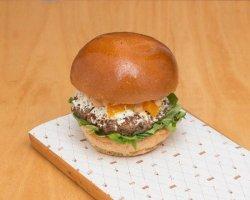 Goat & Lamb Burger image