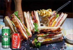 Meniu Club Sandwich Power 500 g image