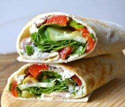 Shaorma Vegetariană la lipie 350 g image