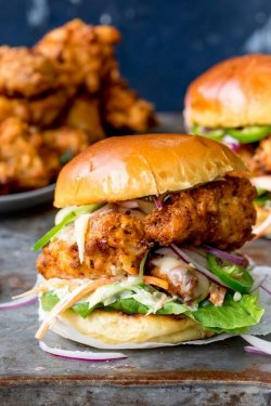 BBQ Chicken Burger 350 g image