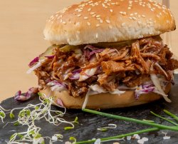 Bbq pulled pork burger 350 g