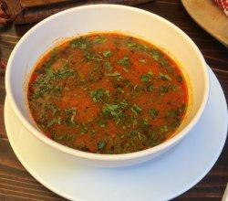 Supă gulaș cu hribi