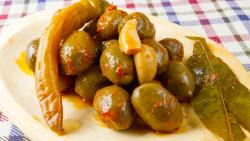 Măsline picante