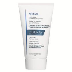 Emulsie kerato-reductoare pentru cruste de lapte sau piele cu scouame Kelual, 50 ml, Ducray