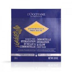 L`Occitane Masks Instant Sheet Imortele Precious Smoothness image