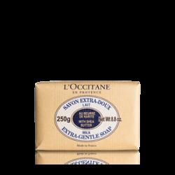 L`Occitane Sapun Cu Extract De Shea Si Lapte 250g