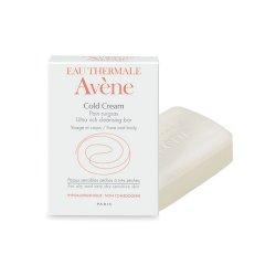 Sapun emolient pentru ten uscat si foarte uscat Cold Cream, 100 g, Avene