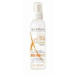 Spray protectie solara pentru copii SPF 50+, 200 ml, A-Derma..
