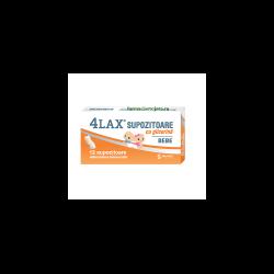 Supozitoare cu glicerina pentru copii 4Lax, 12 bucati, Solacium..