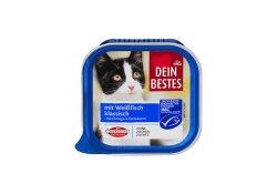 Dein Bestes hrana pentru pisici peste alb 100g image