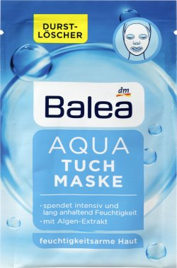 Balea masca fata servetel hidratant 1 image