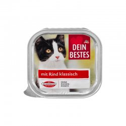 Dein Bestes hrana pisici vita 100g image