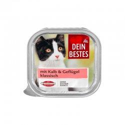 Dein Bestes hrana pisici vitel 100g image